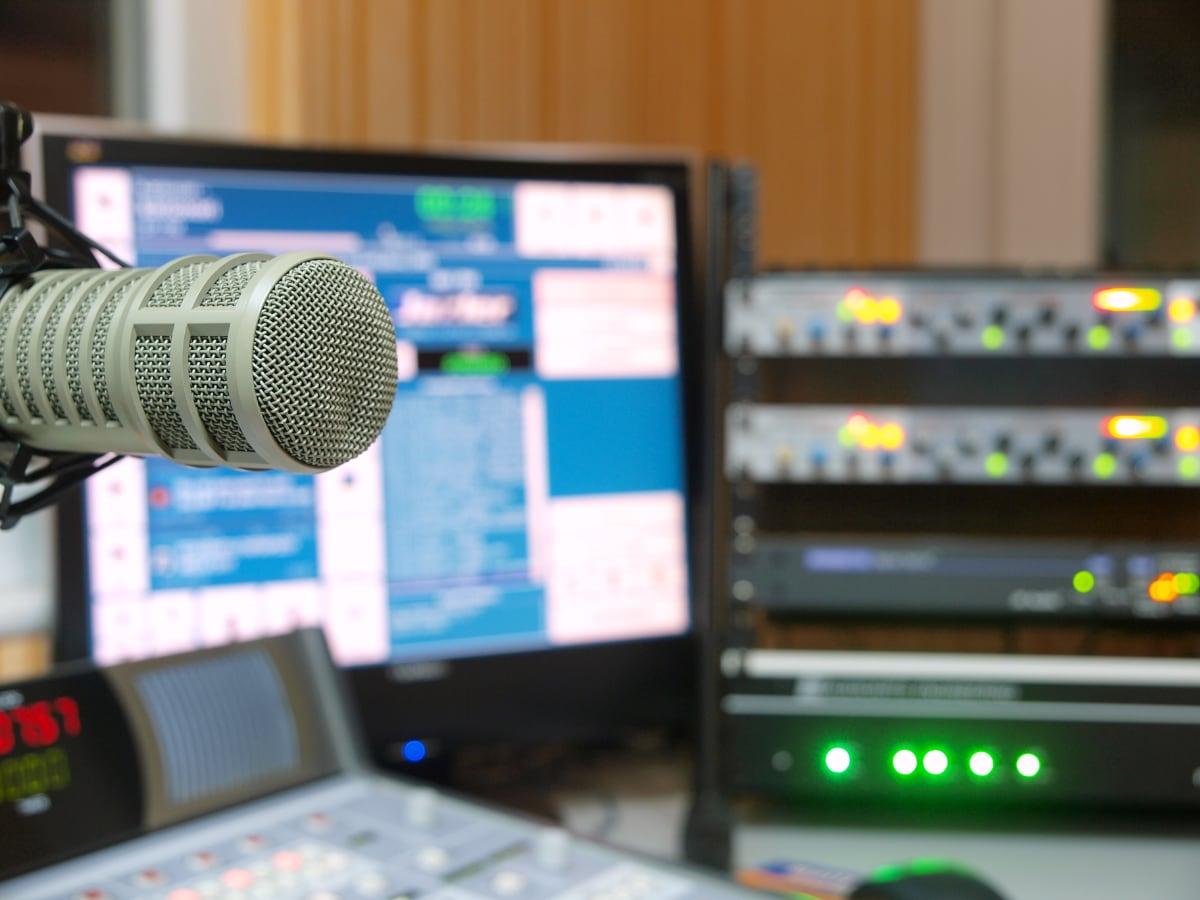 Radio Studio Graphic